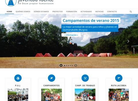Diseño Web ONG España