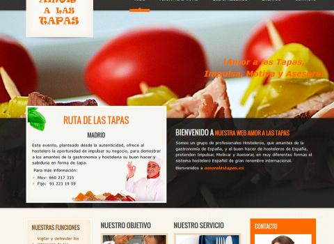 Diseño Web Tapas