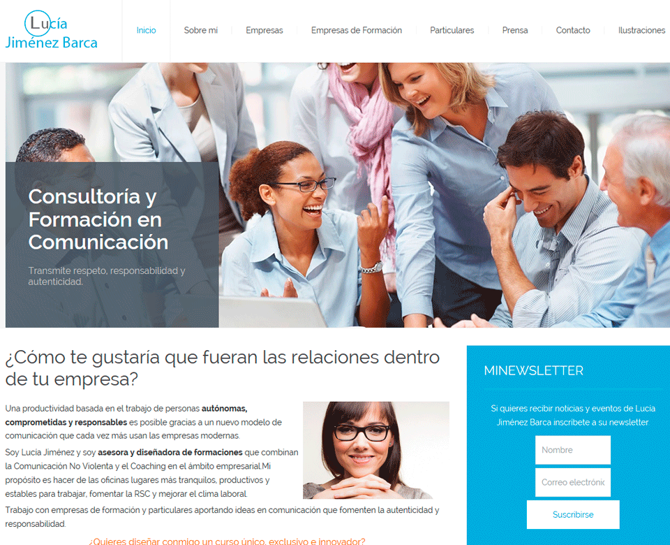 Diseño web Coaching